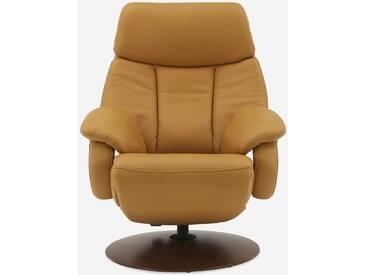 HUKLA Sessel CR04, orange Leder