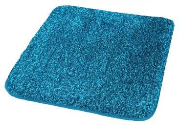 Kleine Wolke Badteppich Relax 80 cm, Blau Polyacryl