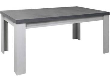Mäusbacher Esstisch mit Auszug Monza 160/260 x 90 cm, grau