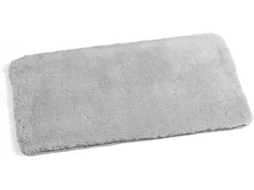 Kleine Wolke Badteppich Relax 70 x 120 cm, Grau Polyacryl