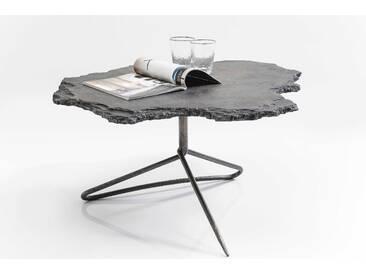 KARE Couchtisch Vulcano, Grau Stein, Marmor, Granit