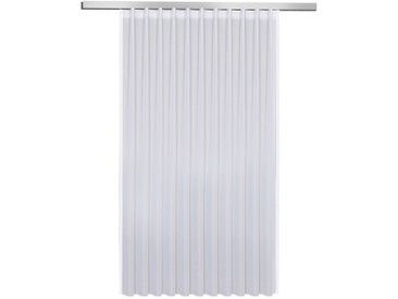 Fertiggardine Marina 150 x 600 cm, Weiß Polyester