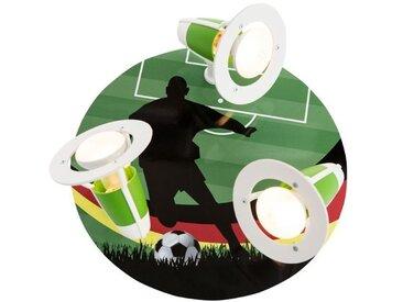 Elobra Kinderlampe WM Fußballer, Holz