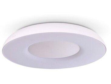 Philips LED-Deckenleuchte Hue Still /Weiß, Alu, Eisen, Stahl &