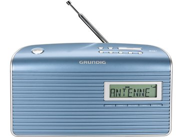 Grundig Music BS 7000 DAB+ Audio - Blau / Silber