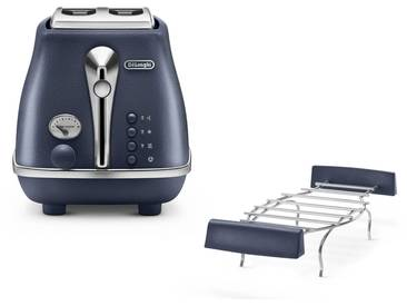DeLonghi Icona Elements CTOE2103.BL Wasserkocher & Toaster -...