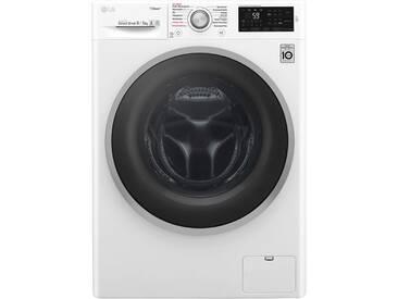 LG F12WD74SLIM Waschtrockner - Weiß