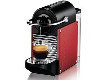 DeLonghi Nespresso Pixie EN 125.R Kaffeemaschinen - Schwarz / Rot
