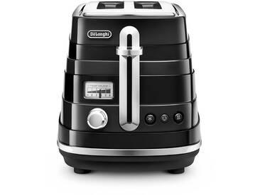 DeLonghi Avvolta CTA2103.BK Wasserkocher & Toaster - Schwarz