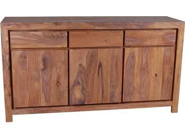 MiaMöbel Sideboard Maharaja Modern Massivholz Sheesham Indien Indisch