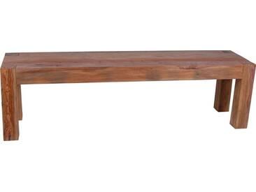 MiaMöbel Bank Mumba 160cm Modern Massivholz Sheesham Indien Indisch