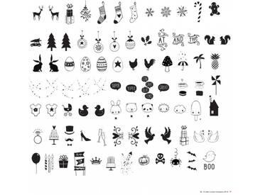 A Little Lovely Company Celebrations Lightbox Symbol Set