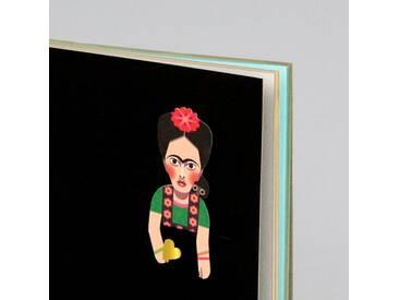 noodoll Frida Gold Edition Sketchbook Notizbuch 16x11,5 cm