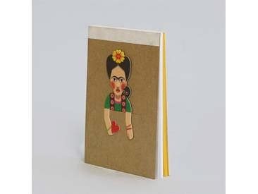 noodoll Frida Pocket Sketchbook Notizblock 11,5x8 cm