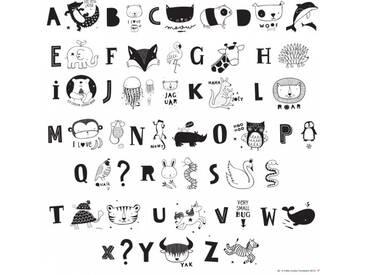A Little Lovely Company Kids ABC Lightbox Letter Set schwarz