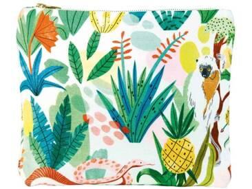 &klevering Faultier Tasche Bodil Jane Dschungel Mehrfarbig 26,5x21 cm