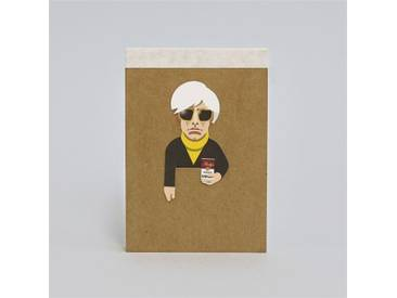 noodoll Andy Pocket Sketchbook Notizblock 11,5x8 cm