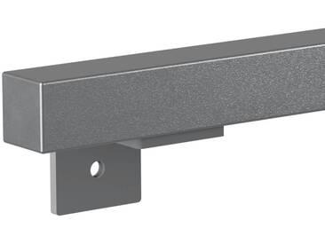 Treppenhandlauf aus Stahl Profil 30x30 mm Handlauf Treppengeländer Wandhandlauf HLH-03-200 cm RAL 9023 Perldunkelgrau