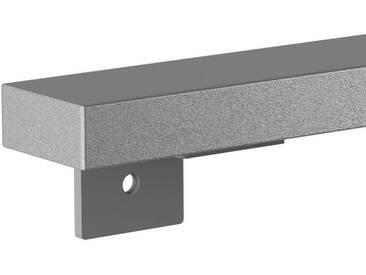 Treppenhandlauf aus Stahl Profil 60x30 mm Handlauf Treppengeländer Wandhandlauf HLH-01-160 cm RAL 9023 Perldunkelgrau