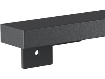 Treppenhandlauf aus Stahl Profil 60x30 mm Handlauf Treppengeländer Wandhandlauf HLH-01-170 cm RAL 7016 Anthrazitgrau