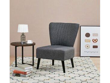 Cocktailsessel Lounge Sessel Kindersessel dunkelgrau