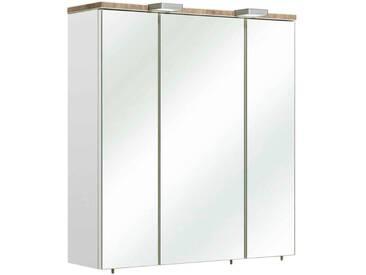 Pelipal Spiegelschrank BURGAS, Weiß, Holznachbildung