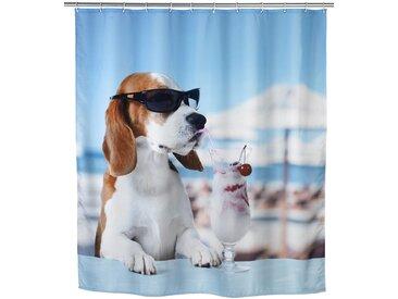 Zurbrüggen Duschvorhang Cool Dog, Mehrfarbig, Polyester
