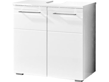 Pelipal Waschbeckenunterschrank DORIA, Weiß, Holznachbildung