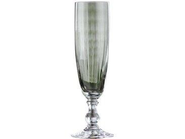 BOHEMIA Cristal Sektkelch klar 230ml Georgia, Weiß, Glas