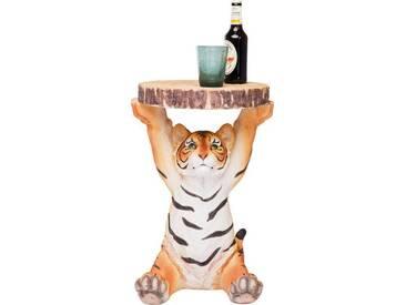 Karé Beistelltisch Tiger Beistelltische Animal, Motiv, Kunstharz