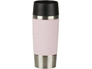 Emsa Isolierbecher 0,36l TRAVEL MUG, rosa, Edelstahl