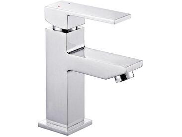 XORA Waschtischarmatur XR-390, Silber, Chrom