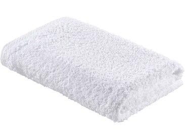 Zurbrüggen Handtuch 50x100cm weiß MANU, Weiß, Baumwolle