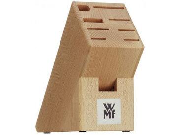 WMF Messerblock, unbestückt, beige, Holz