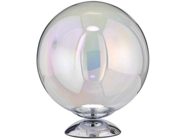 WOFI Leuchten Tischleuchte Mia 1flg, chrom, Glas