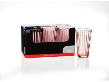 Ritzenhoff & Breker Longdrink 400ml rosa Lawe, rosa, Glas