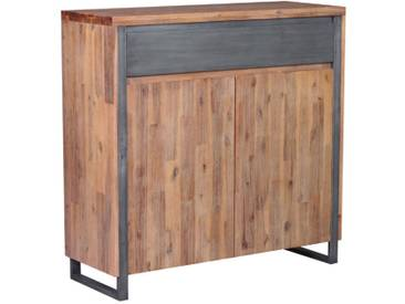 Highboard III BALI, akazie, Holz