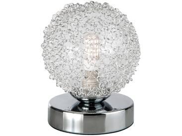 Nino Leuchten LED-Tischleuchte 1-flg. Ryder, silber, Metall