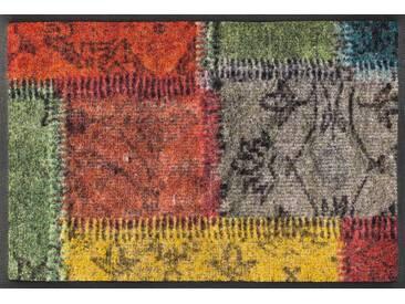Kleen-Tex Fußmatte Vintage Patches, multicolour, Polyamid