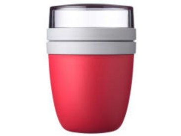 Mepal Lunch pot Ellipse - nordic red, rot, Materialmix