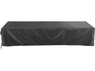 Zurbrüggen Liegenhülle AERO COVER, schwarz, Kunststoff