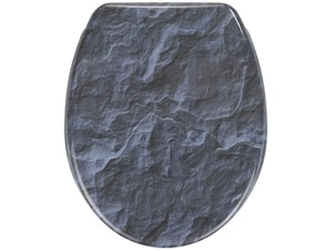 Zurbrüggen WC-Sitz Slate Rock, multicolour, Duroplast
