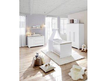 Paidi Babyzimmer KIRA, Weiß, Holznachbildung