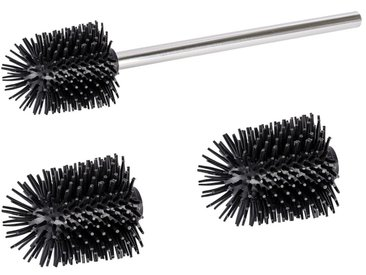 Zurbrüggen Ersatzbürste mit Stiel, schwarz, Kunststoff