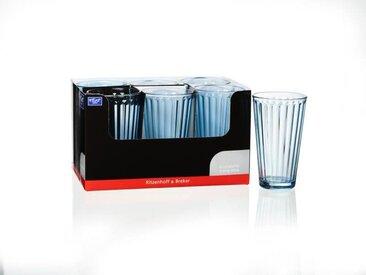 Ritzenhoff & Breker Longdrink 400ml blau Lawe, blau, Glas