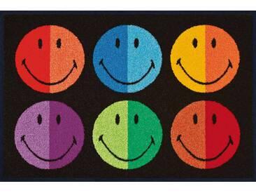 Kleen-Tex Fußmatte Smiley Colours, multicolour, Polyamid