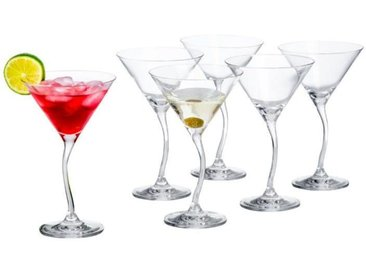 Leonardo KT/6 Cocktailschale Modella, klar, Glas
