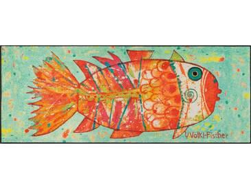 Kleen-Tex Fußmatte Funky Fish, multicolour, Polyamid