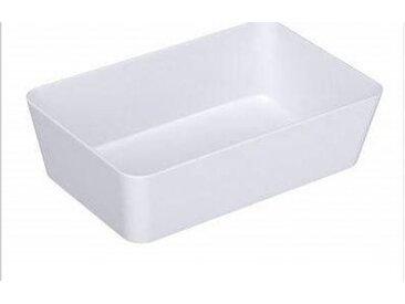 Wenko Ablage breit, Candy White, Weiß, Polystyrol