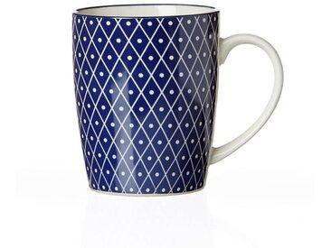 Ritzenhoff & Breker Kaffeebecher 350ml ROYAL REIKO, blau, Porzellan